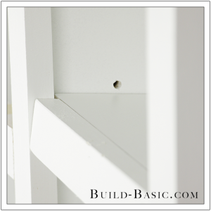 The Build Basic Custom Closet System - Adjustable Shelves and Hanging Rods - Step 9