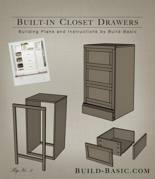 Closet Drawers Build Basic