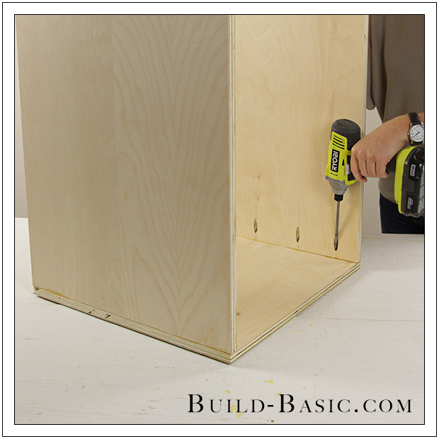 The Build Basic Custom Closet System   Built In Closet Drawers   Step 1