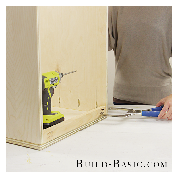 The Build Basic Custom Closet System   Built In Closet Drawers   Step 2
