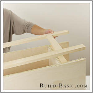 The Build Basic Custom Closet System - Custom Closet Cabinet - Step 13