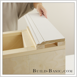 The Build Basic Custom Closet System - Custom Closet Cabinet - Step 18