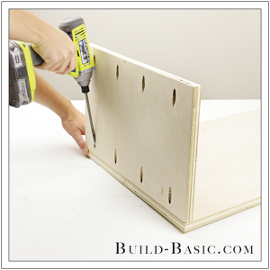 The Build Basic Custom Closet System - Custom Closet Cabinet - Step 6