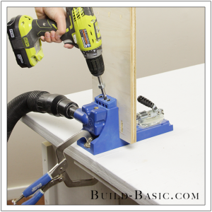 The Build Basic Custom Closet System - Hideaway Ironing Station - Step 1