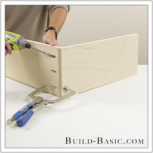 The Build Basic Custom Closet System - Hideaway Ironing Station - Step 3