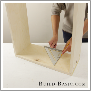 The Build Basic Custom Closet System - Hideaway Ironing Station - Step 5