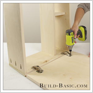 The Build Basic Custom Closet System - Hideaway Ironing Station - Step 8