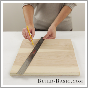 The Build Basic Custom Closet System - Pull Out Shoe Organizer - Step 1