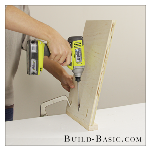 The Build Basic Custom Closet System - Pull Out Shoe Organizer - Step 3