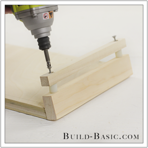 The Build Basic Custom Closet System - Pull Out Shoe Organizer - Step 6
