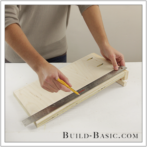 The Build Basic Custom Closet System - Pull Out Shoe Organizer - Step 7