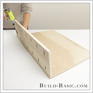 The Build Basic Custom Closet System - Tilt-out Hamper - Step 10