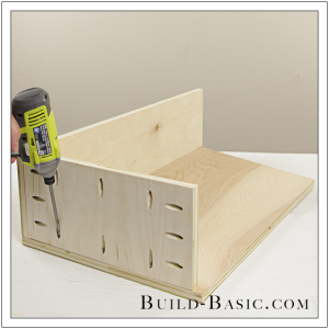 The Build Basic Custom Closet System - Tilt-out Hamper - Step 11