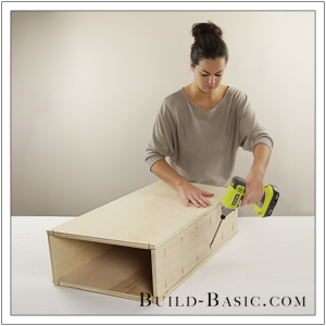 The Build Basic Custom Closet System - Tilt-out Hamper - Step 13
