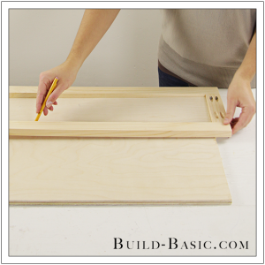 The Build Basic Custom Closet System - Tilt-out Hamper - Step 15