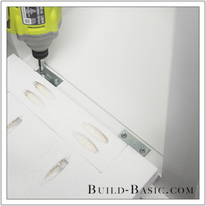 The Build Basic Custom Closet System - Tilt-out Hamper - Step 19