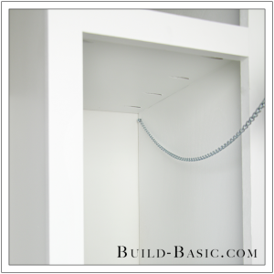 The Build Basic Custom Closet System - Tilt-out Hamper - Step 21