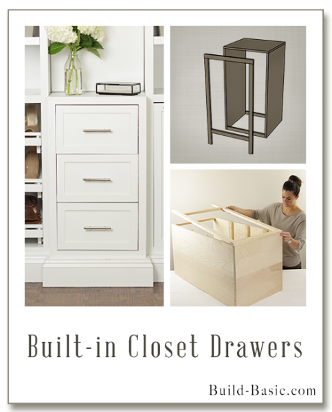 the build basic custom closet system by build basic built in closet drawers frame build basic. Black Bedroom Furniture Sets. Home Design Ideas