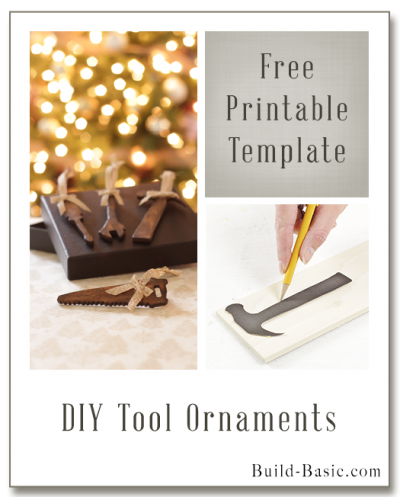 DIY Tool Ornaments by Build Basic - Display Frame