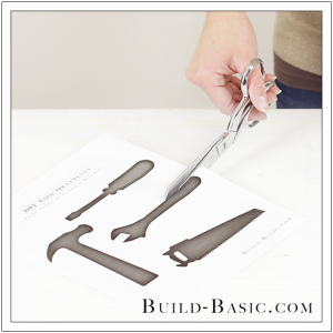 DIY Tool Ornaments by Build Basic - Step 1