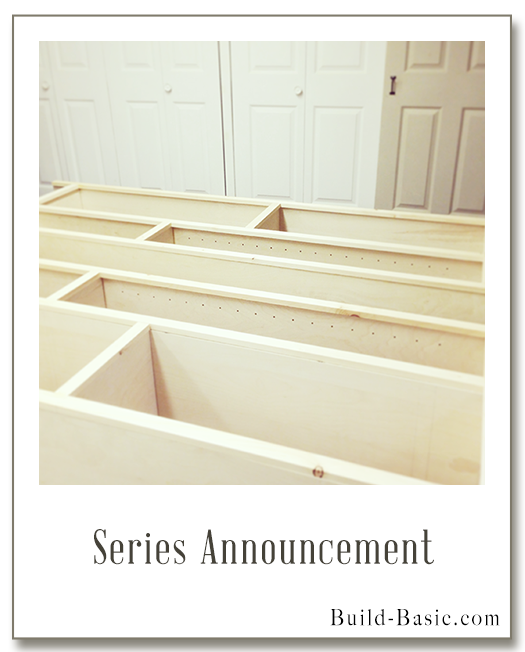 The Build Basic Closet System - Series Announcement - Display Frame