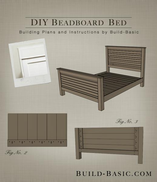 Build A Diy Beadboard Bed Build Basic