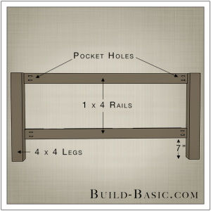DIY Beadboard Bed by Build Basic - Step 1