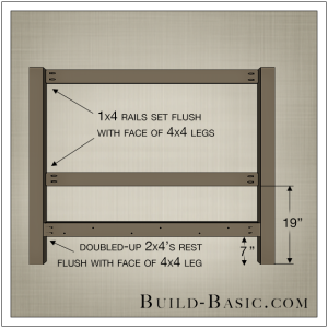 DIY Beadboard Bed by Build Basic - Step 2