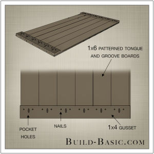 DIY Beadboard Bed by Build Basic - Step 3