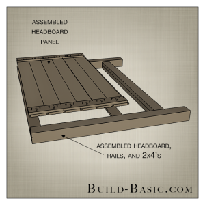 DIY Beadboard Bed by Build Basic - Step 4
