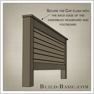 DIY Beadboard Bed by Build Basic - Step 6