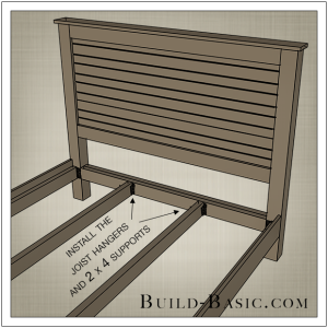 DIY Beadboard Bed by Build Basic - Step 9