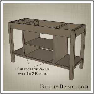 DIY Open Kitchen Island by Build Basic - Step 10