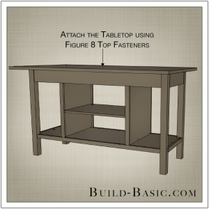 DIY Open Kitchen Island by Build Basic - Step 12