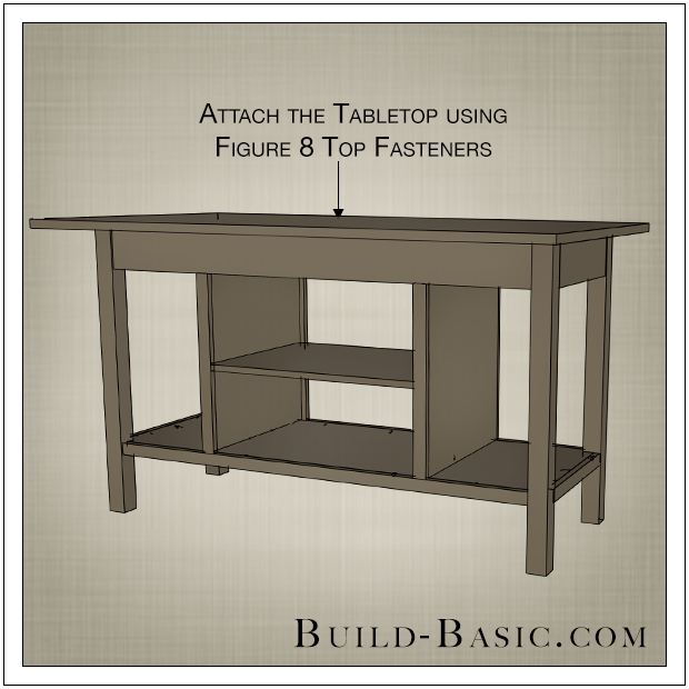 DIY Open Kitchen Island By Build Basic