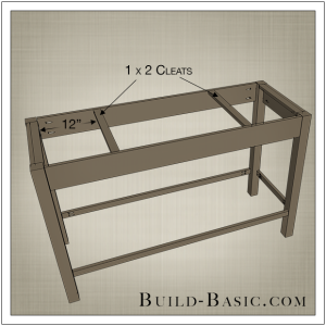 DIY Open Kitchen Island by Build Basic - Step 4