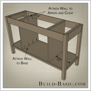 DIY Open Kitchen Island by Build Basic - Step 8