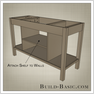 DIY Open Kitchen Island by Build Basic - Step 9