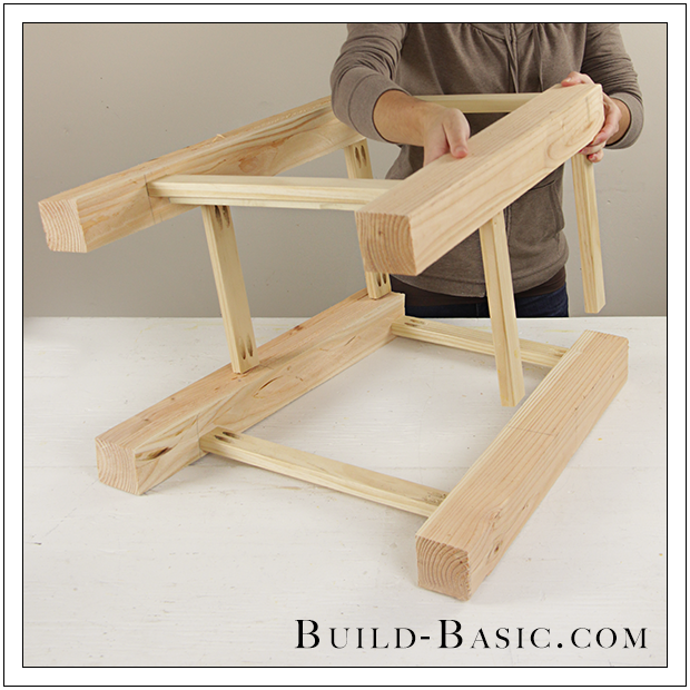 build a diy side table ‹ build basic Homemade Bedside Table
