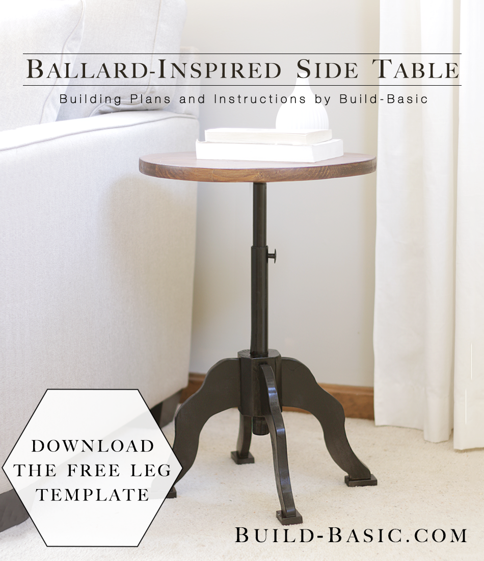 ballard-inspired side table ‹ build basic
