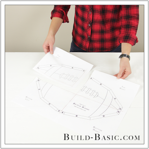 Build a DIY Football Tray by Build Basic - Step 1