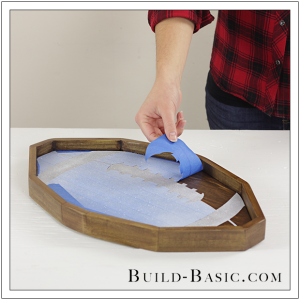 Build a DIY Football Tray by Build Basic - Step 14