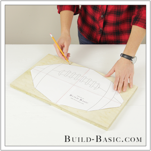 Build a DIY Football Tray by Build Basic - Step 3