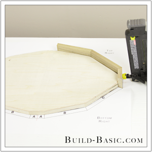 Build a DIY Football Tray by Build Basic - Step 8