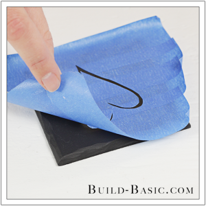 DIY Faux Slate Coasters by Build Basic - Step 11