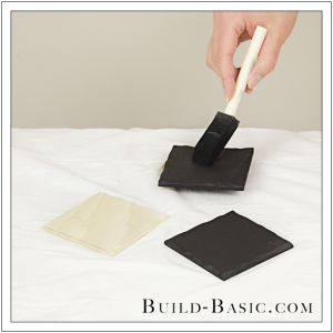 DIY Faux Slate Coasters by Build Basic - Step 7