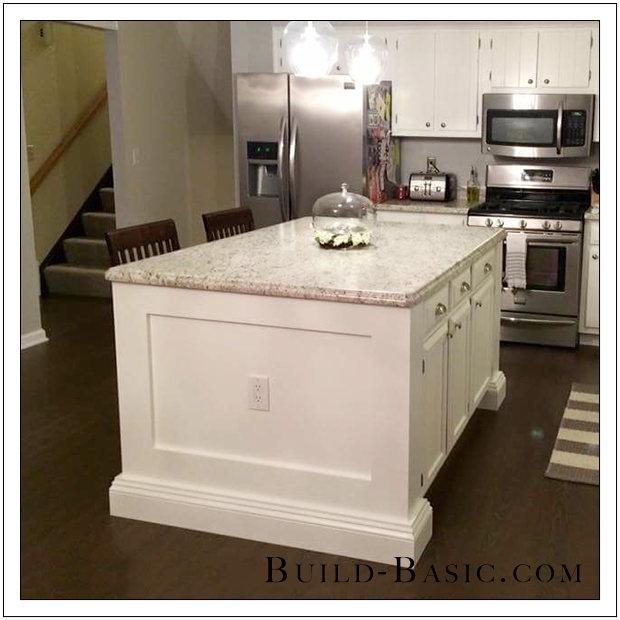 Build Basic Reader Project - DIY Kitchen Island by Vince and Liz