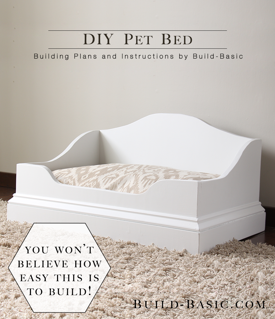 Diy Pet Bed Build Basic