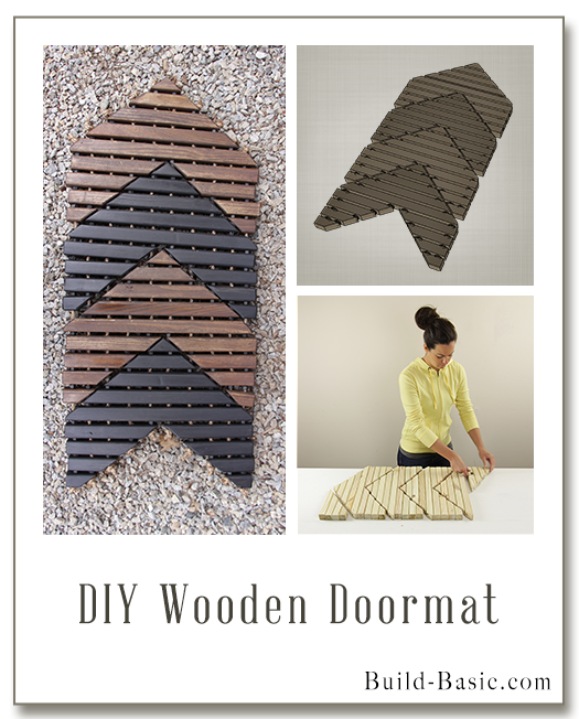 DIY Wooden Doormat by Build Basic - Display Frame
