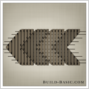 DIY Wooden Doormat by Build Basic - Step 10
